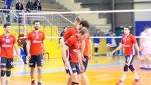 Quelques points du match Martigues Volley- AMSL Fréjus