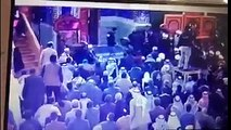 فيديو محاولة اغتيال للشيخ عبد المهدي الكربلائي ممثل السيد علي السيستاني في صحن الامام الحسين#ريناس