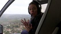 Crue de la Marne: des maisons et terrains de foot inondés, la ville d'Esbly vue de l'hélicoptère BFMTV