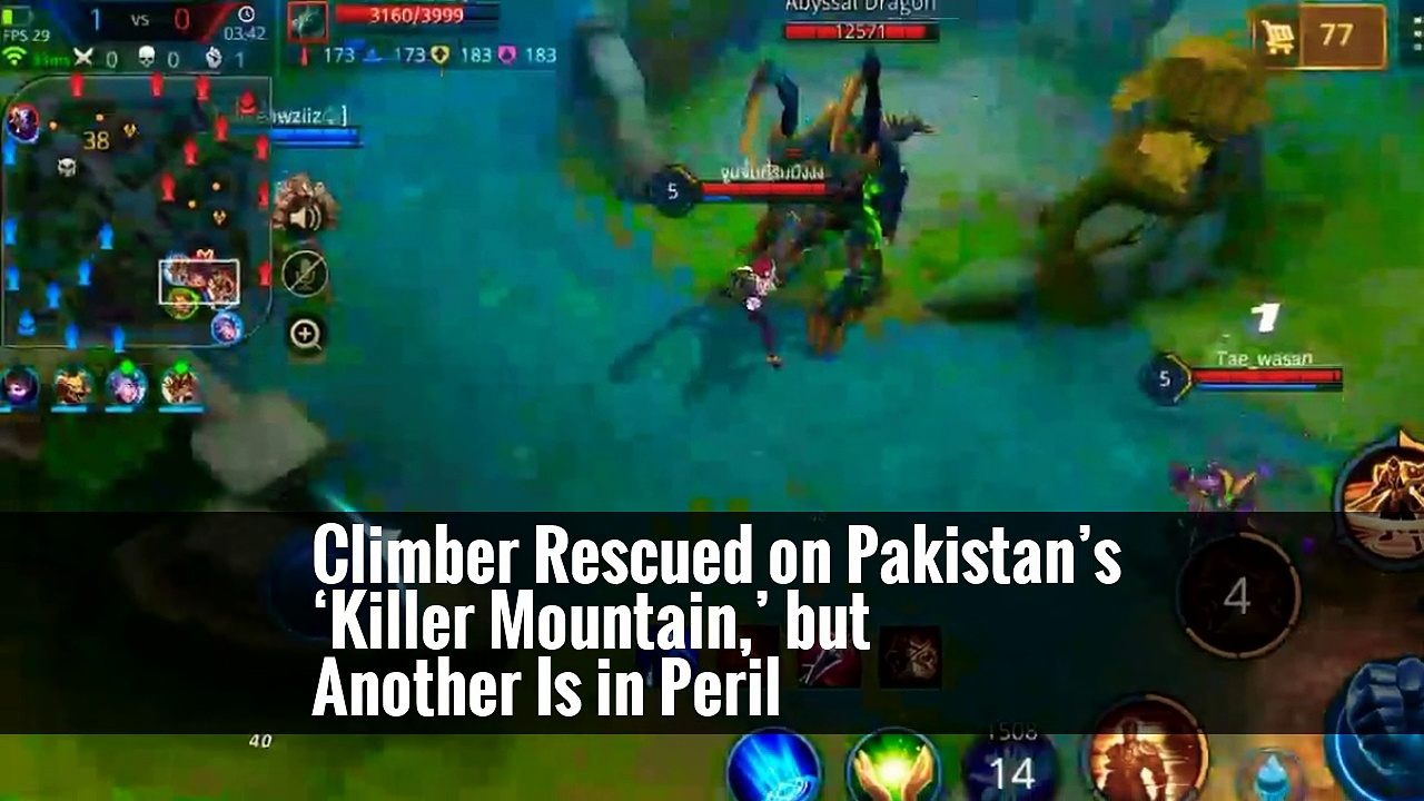 Climber Rescued on Pakistan's 'Killer Mountain,' but Another Is in Peril