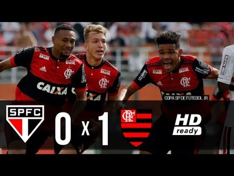 São Paulo 0 x 1 Flamengo - FLAMENGO CAMPEÃO - Melhores Momentos - Copa São Paulo 2018