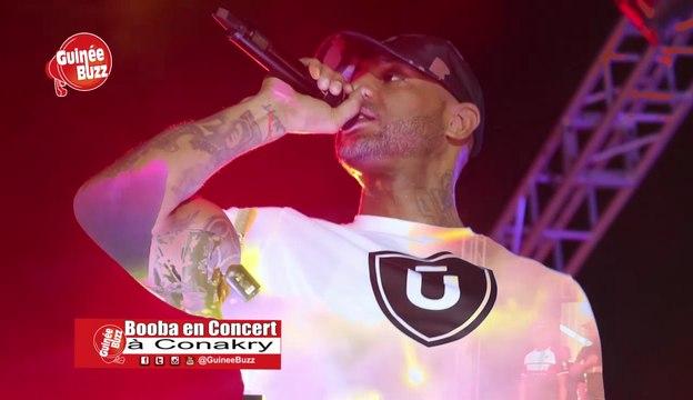Concert : BOOBA au Stade du 28 Septembre à Conakry
