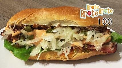 Schmelzkäse-Pork-Sandwich - Folge 100