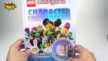 DKs LEGO Minifigures Charers Encyclopedia with EXCLUSIVE Toy Soldier Minifigure Review