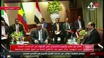 الرئيس السيسي يؤكد نجاح القمة الثلاثية