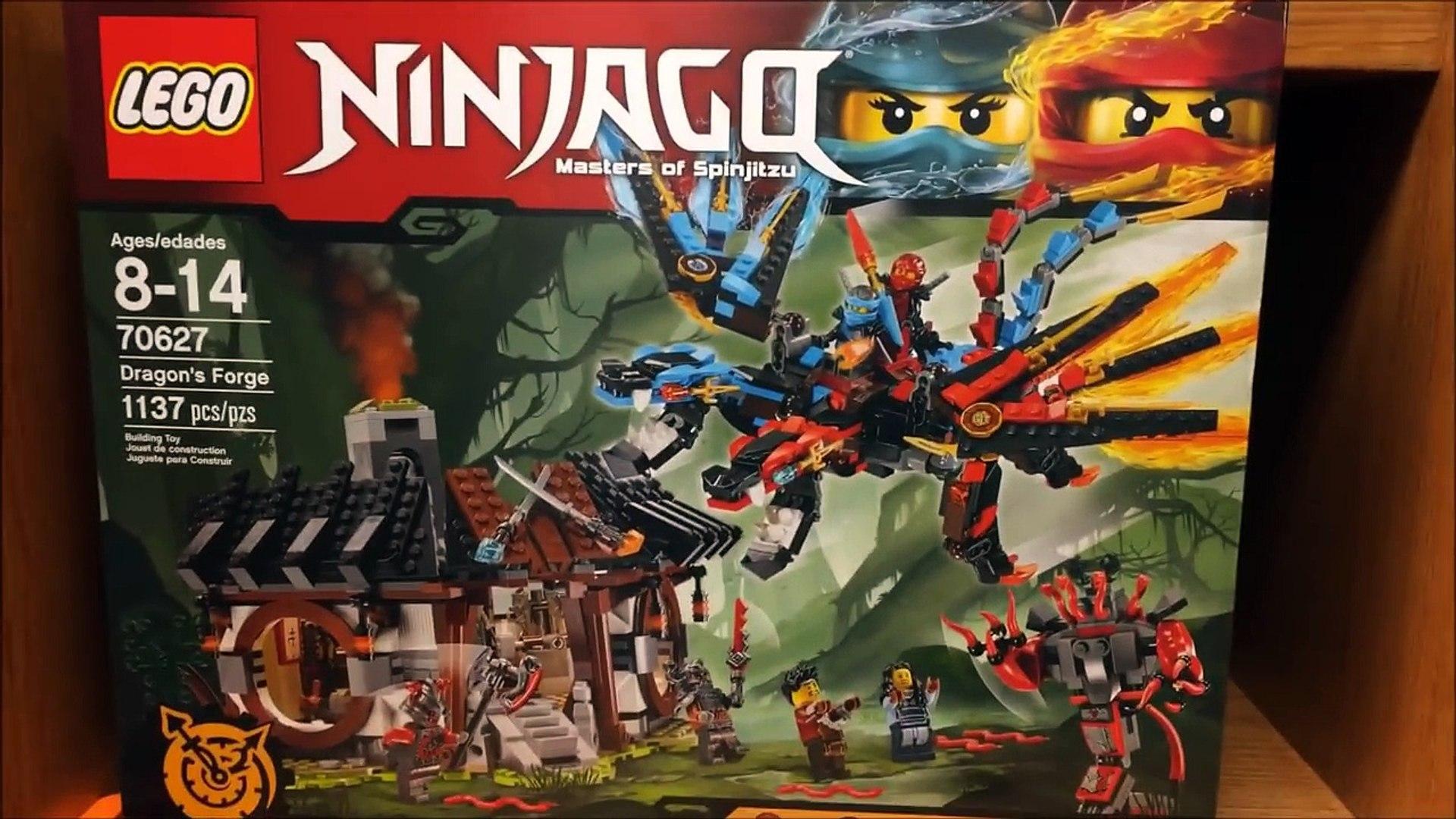 Of Hands Minifigures Dragon´s Time Forge Ninjago Maya Set Review Lego 70627 Ray 0nwOX8Pk