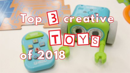 Three must-have toys of 2018