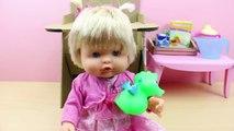 La Bebé NENUCO come su papilla en su trona Eco Play | Juguetes de Nenuco en español
