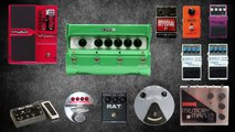 The Mars Volta - At The Drive In - Omar Rodriguez Lopez - Gear Rundown - Guitars, Amps, Pedals
