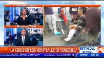 """Como """"fábrica de discapacitados"""" califican ciudadanos venezolanos los hospitales del país"""