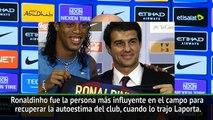 Guardiola- No vi a nadie como Ronaldinho, hasta que llegó Messi / Guardiola - I did not see anybody as Ronaldinho, until Messi came