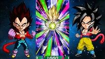 BACK TO BACK TO BACK SSR'S! SSJ4 Goku And Vegeta Summons Dbz Dokkan Battle