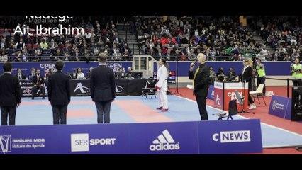 """Open Paris Karaté 2018 - Nadège Ait-Ibrahim : """"Une compétition au mental"""""""