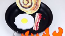 DIY Crafts: 3 Fun DIY Projects - Notebook, Pen, Pencil Case (Weird DIYs To Try) Fried Egg & Bacon