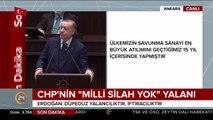 Cumhurbaşkanı Erdoğan: CHP'nin tek sermayesi Atatürk istismarcılığıdır