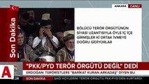 Cumhurbaşkanı Erdoğan: PKK�nın izinden giden CHP�nin ÖSO�ya gelince n