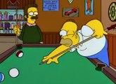 Los Simpson - Ned Flanders - Ten cuidadito Homer que vas a estrenar la mesa