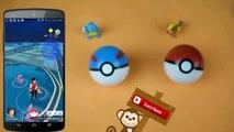 POKEMON GO #3 - Cazamos un Pikachu Navideño - Superball y Pokeball con Juguetes