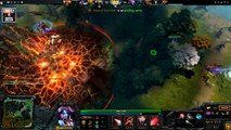 Scandal Queen of Pain Dota 2 Gameplay