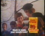 UK British TV Television Adverts Commercials Ads 1981 - Opal Fruits /  Fresh Cream / Wagon Wheels / Milk / Bristows Deep Shine Shampoo