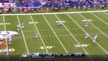 New England Patriots quarterback Tom Brady intercepted byIndianapolis Colts safety Mike Adams