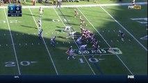 Detroit Lions defensive tackle Ndamukong Suh rushes New England Patriots quarterback Tom Brady