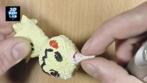 Making Pokémon figures with 3D Pen | Sun and Moon | Mimikyu, Exeggutor and Vulpix Alola form