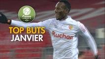 Top Buts Dominos Ligue 2 - Janvier (saison 2017/2018)