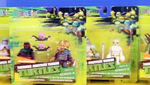 Nickelodeon Teenage Mutant Ninja Turtles TMNT Mini Mates Collection With Shredder Splinter And Mikey