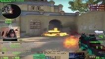 CS:GO - When PRO PLAYERS use NOOB GUNS!!