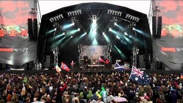 Cathedral Live at Bloodstock Open Air 2011 - Hopkins (The Witchfinder  General)