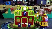 Chuck E Cheese Family Fun Indoor Games & Activities for Kids Children Play Area Lorraine Toys Videos