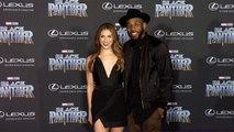 "Allison Holker and tWitch ""Black Panther"" World Premiere Purple Carpet"