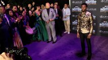 "Chadwick Boseman ""Black Panther"" World Premiere Purple Carpet"