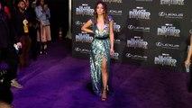 "Chloe Bennet ""Black Panther"" World Premiere Purple Carpet"