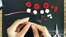 Quilling Bracelet Learning Video 4 // Paper Bracelet friendship// Flower Bracelet