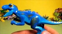 18 Lego Jurassic World Dinosaurs Toys Colorful Hybrid Indominus Rex Raptor T Rex