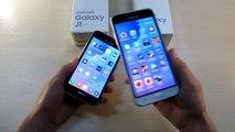 Samsung J3 vs samsung J1 2016. Ek ücretler ve J3 J1 satın almak ya da 2016 yılında satın alıyor?