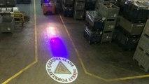 Fabrika Alanı Güvenlik Işığı Yansıtın,Forklif Çalışma Alanı Logosu Yansıt,Factory Area Security Light Reflect,Factory Area Sicherheitslicht reflektieren
