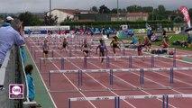 Albi 2017 : Finale 100 m haies Espoirs (Pauline Salies en 13''66)