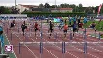 Albi 2017 : Finale 110 m haies Espoirs (Dylan Caty en 14''03)