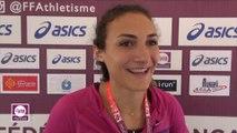 Coralie Arcuby : « Surprise et émue de battre mon record »