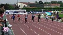 Albi 2017 : Finale 100 m Nationaux M (Guy-Elphège Anouman en 10''39)