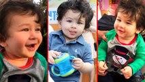 Taimur Ali Khan POSES For Media Camera, Cute Photos