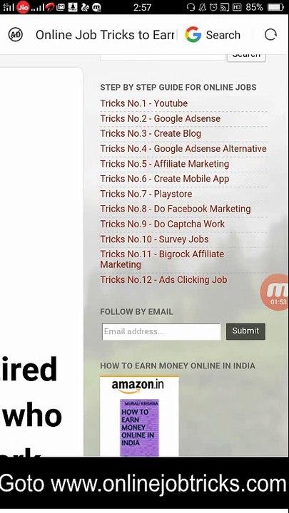 online captcha typing job