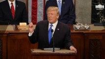 """""""Guantanamo"""", """"Daech"""", """"Frontières ouvertes"""" : 5 points essentiels du discours sur l'état de l'Union de Trump"""