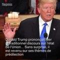 Lors du discours sur l'état de l'Union, Trump a fait du Trump