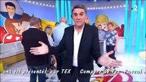 """""""Les Zamours"""" : Tex fait ses adieux sans le savoir sur France 2"""