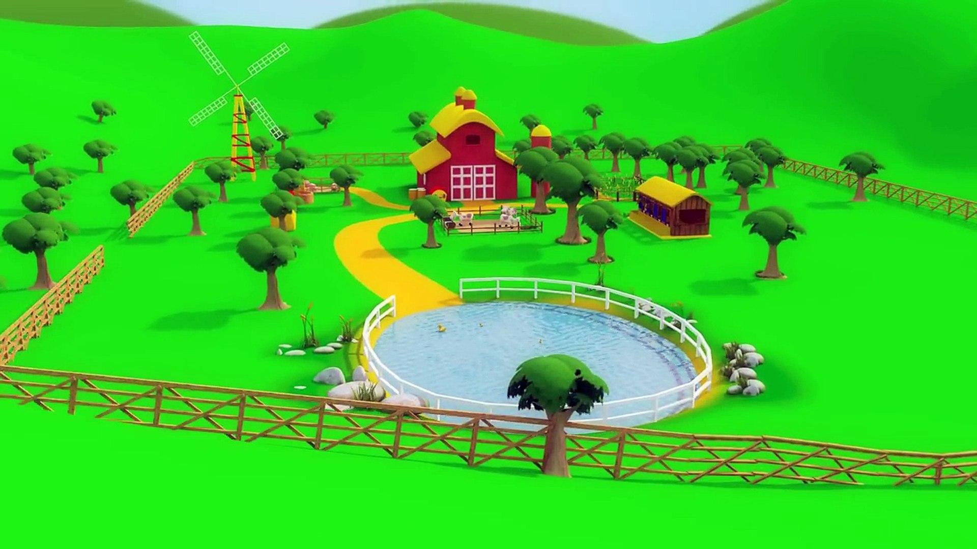 Kids TV Nursery Rhymes - Old MacDonald had a Farm - old macdonald for kids - kids tv songs