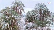 Maroc : de la neige dans le désert !